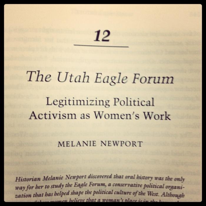 eagle forum publication
