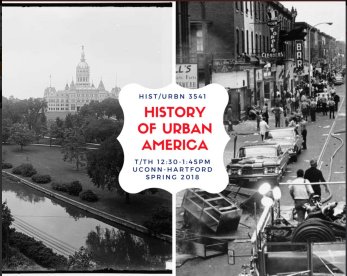 urban history flyer spring 2018